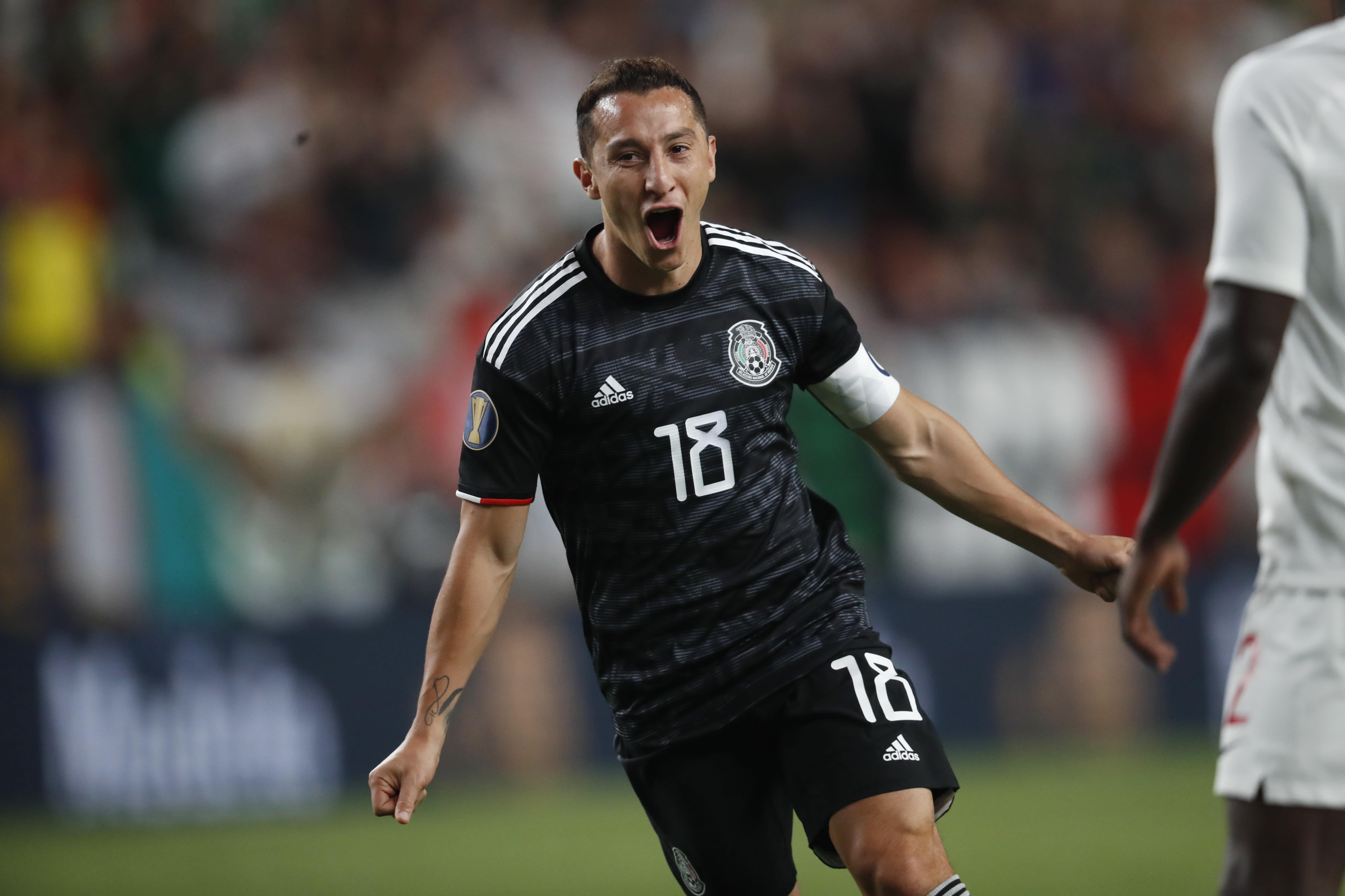 af46207acde15 Guardado scores 2 as Mexico beats Canada 3-1