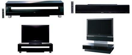 Sony debuts Sound Wall media stand-surround sound combo