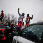Police fire tear gas at protesters after officer fatally shoots man near Minneapolis