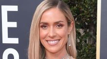 Kristin Cavallari Does an Edgy Photoshoot in a Backless Metallic Dress That Matches Her Jewelry Line