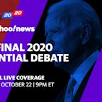 Trump, Biden face off in the final 2020 presidential debate