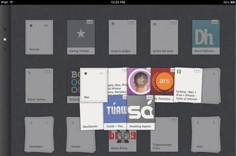 Reeder client for Google Reader now available for iPad
