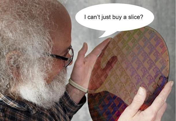 AMD cuts silicon wafer order by three quarters, gets a nasty fine
