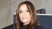 Eva Longoria Works Out a Matching Sports Bra & Leggings With Nikes