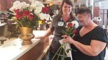 Bride donates flowers to cancer patients after hurricane postpones wedding
