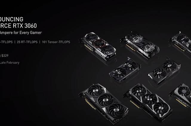 NVIDIA's GeForce RTX 3060 offers ray tracing for $329
