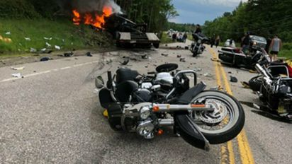 Truck driver arrested in deaths of 7 motorcyclists