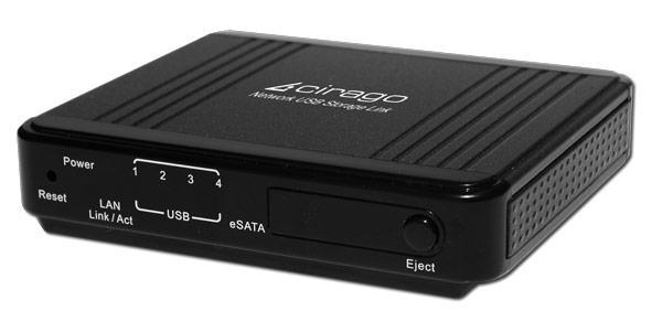 Cirago launches CMC3200 media player, NUS2000 USB network storage link