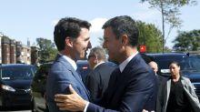 ¿Elegancia o mal gusto? Los calcetines de Trudeau acaparan todas las miradas en su encuentro con Sánchez