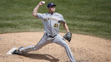Dodgers acquire reliever Corey Knebel from Brewers