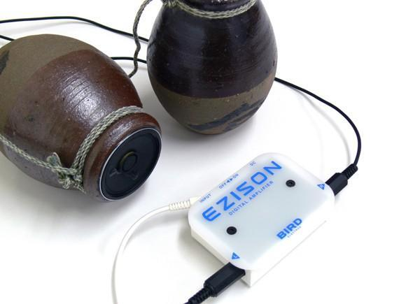 """Bird Electron's Takotsubo """"octopus trap"""" speakers are all kinds of odd"""