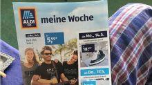 Missglückte Werbung: Aldi erntet Gelächter für Band-Shirts