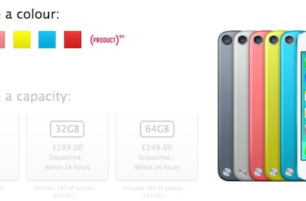 iPod touch price cut, new 16GB model now in UK