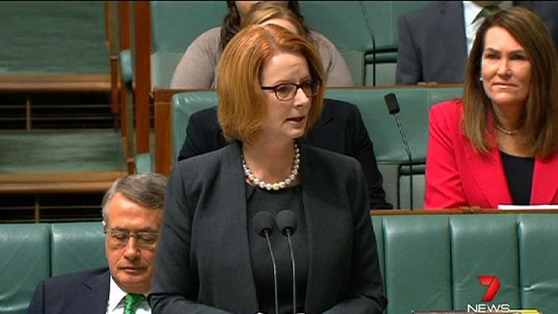 PM breaks down during NDIS speech