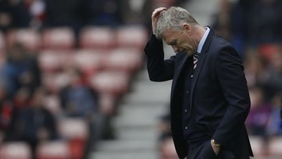 David Moyes showed the scars of Manchester United during his Sunderland failure
