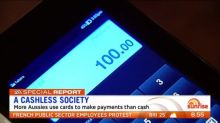 Our increasingly cashless society