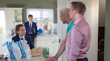 Hollyoaks reveals Harry's secret meeting in 13 pictures