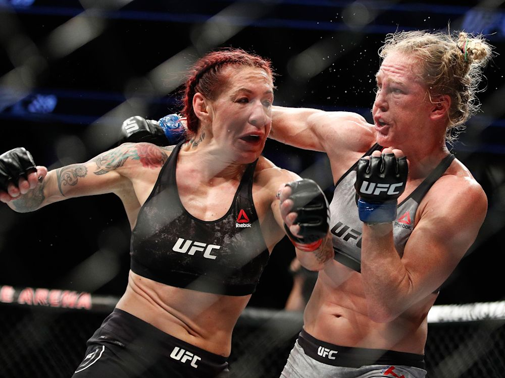 Cris Cyborg defeated Holly Holm at UFC 219 to retain her women's featherweight title: AP