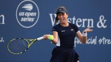 Johanna Konta semi-final pushed back after Western & Southern Open suspend matches