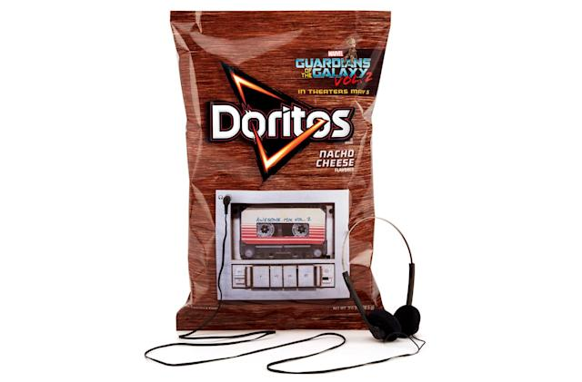 A Doritos bag is all you need to play the 'Guardians 2' soundtrack