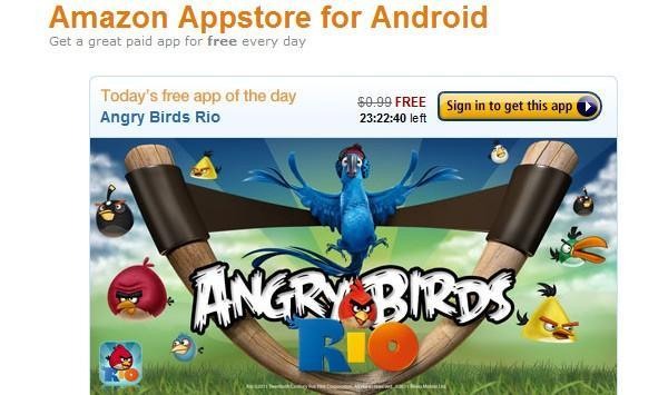 Amazon Appstore for Android goes live, welcomes newcomers with free Angry Birds Rio