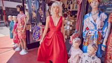 Bridal Brand Floravere Designed a Red Wedding Dress Inspired by   Crazy Rich Asians