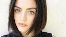 Lucy Hale rocks a short pixie cut without cutting her hair