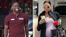 Kevin Hart's Pregnant Wife Spotted Wearing Wedding Ring in L.A. as He Films in Atlanta Amid Extortion Scandal