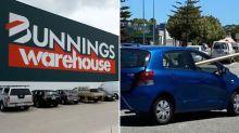 'Unreal': Bunnings car park fail gets hilarious response online
