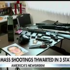 Potential mass shootings thwarted in 3 states amid community vigilance