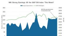 Large Speculators' Positions on the S&P 500 Index