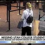 Salt Lake City police say missing Utah college student texted someone at airport