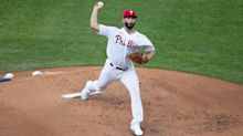 Are we seeing a different Jake Arrieta? Bryce Harper, Joe Girardi excited and encouraged