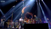 Coldplay Pay A Touching Tribute To Viola Beach During Glastonbury Headline Set