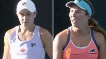 Opponent makes explosive 'bias' claim during clash with Ash Barty