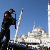 Turkey shakes up security forces in post-coup crackdown