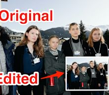 Greta Thunberg slammed the Associated Press for cropping a black activist out of a photo of her at Davos