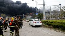 China chemical plant blast kills 62; Xi orders probe