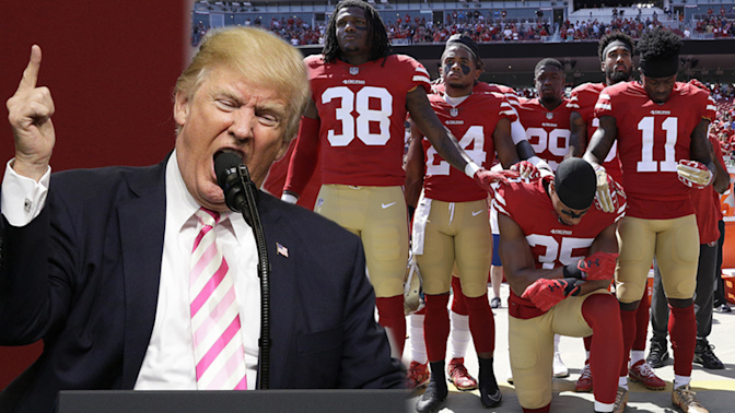 Trump backs NFL into a corner with comments