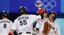 Olympics-Baseball-Japan book spot in gold-medal game, Dominican Republic to play for bronze