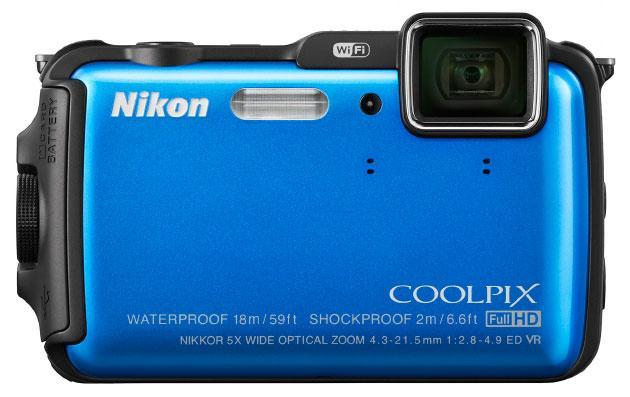Nikon's adventure-ready Coolpix AW120 and S32 snap shots on land and at sea