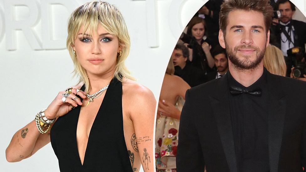 Miley Cyrus and Liam Hemsworth's awkward run-in