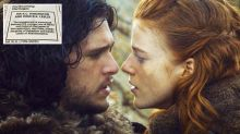 Kit Harington and Game of Thrones co-star Rose Leslie post marriage announcement in The Times newspaper