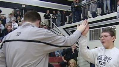 Basketball Team Reaches Out To Teen With Disability