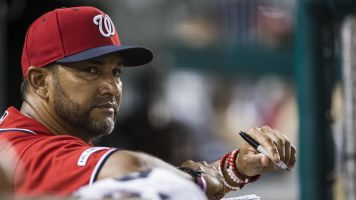 Nationals manager Dave Martinez hospitalized
