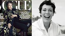 Olivia Colman, 45, calls ageism 'f**king ridiculous' as she covers US Vogue