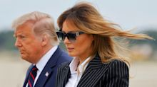 Barron Trump also tested positive for COVID-19, first lady says