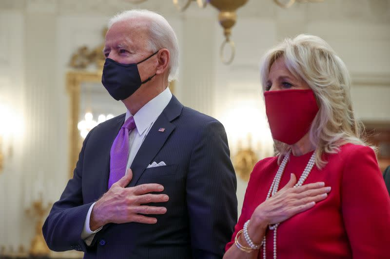 Biden lays out plans for COVID-19 testing, vaccinations and masks