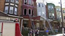 Dozen people displaced in Hunting Park fire
