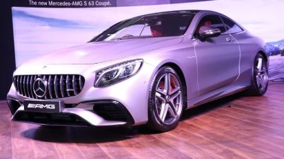 Mercedes launches S 63 Coupe in India at Rs 2.55 cr